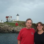 David and Lisa at The Nubble