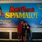 Looking forward to experiencing Spamalot