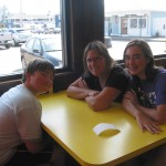 Michael, Lisa and Sarah at Surfside